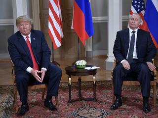 Donald Trump Władimir Putin Trump Putin