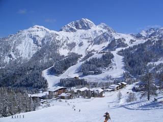 Nassfeld w Austrii. Po słonecznej stronie Alp