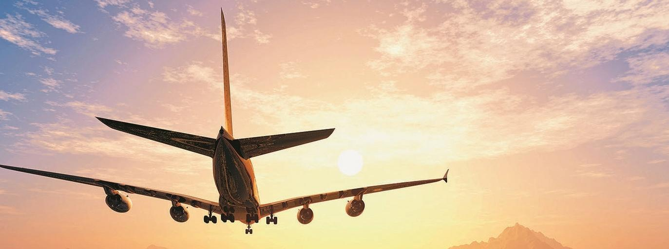 samolot lądowanie
