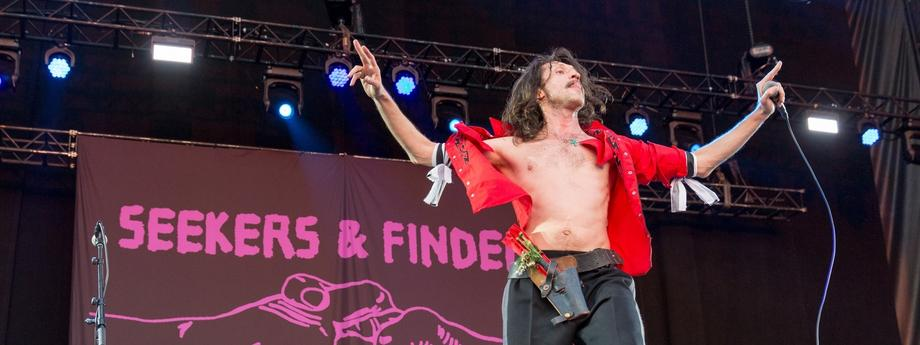 Riot Fest Music Festival in Chicago / REGIONAL MUSIC / BACKGRID , kod: Gogol Bordello - Eugene Hutz