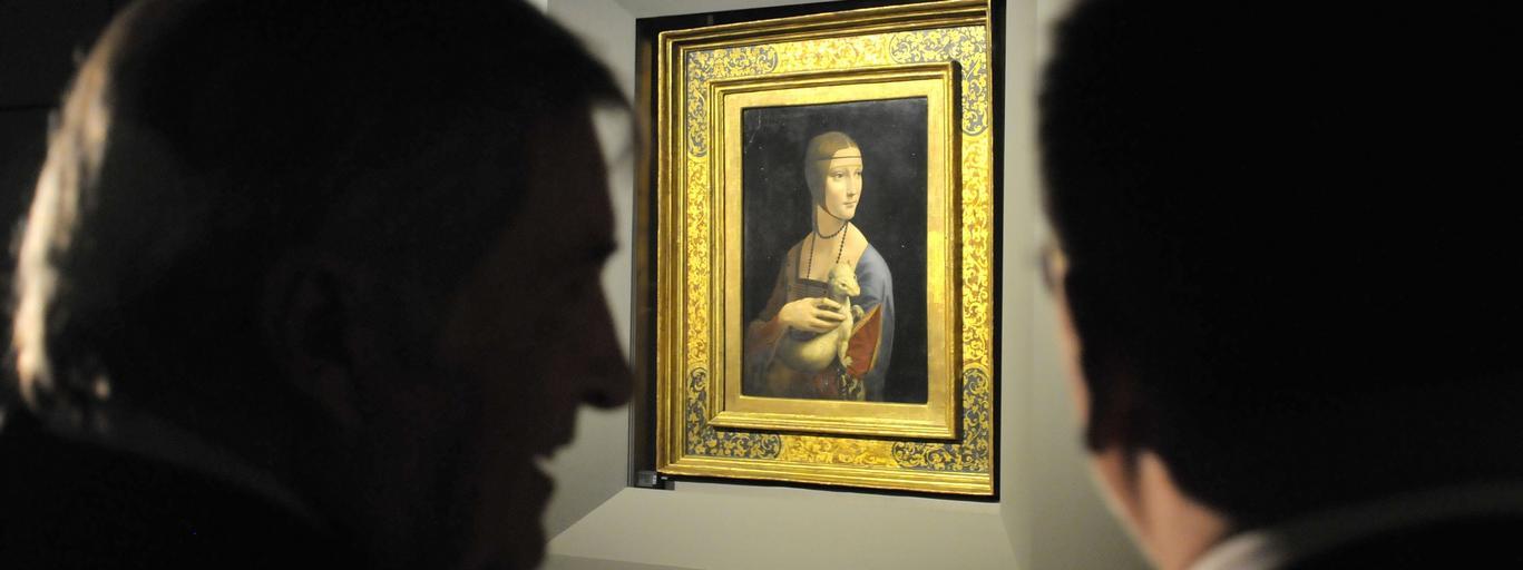 Dama z Lasiczka na Wawelu