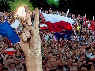 Przez trzy lata chodził na niemal każdą manifestację w Warszawie. Czego się nauczył?