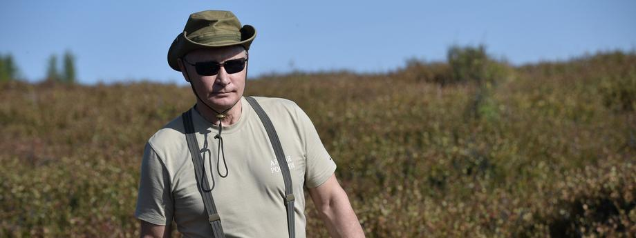 Władimir Putin na wakacjach
