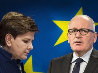 """Czas na """"nuklearną opcję"""" wobec Polski? Analitycy zachęcają UE do zastosowania sankcji"""