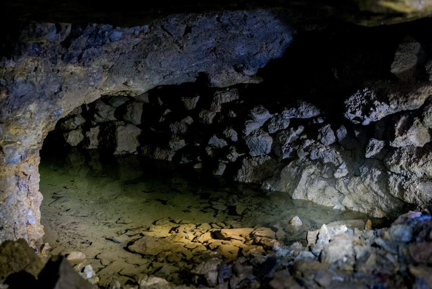 Nieudostępnione korytarze Kopalni Srebra w Tarnowskich Górach