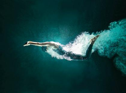 pływanie, pływak, woda