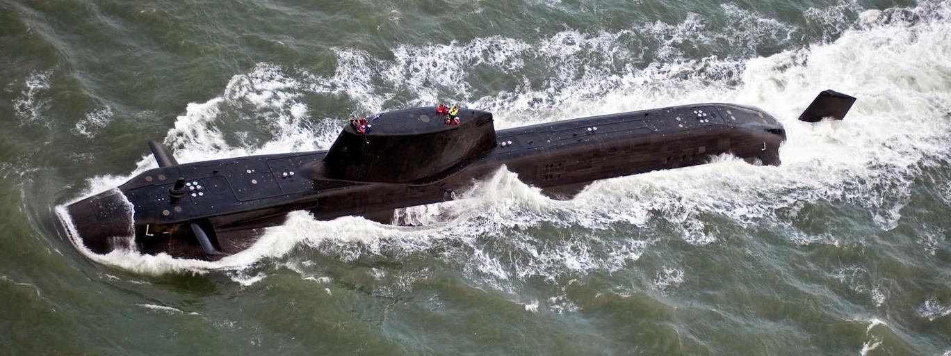 Okręt podwodny wielka brytania Theresa May