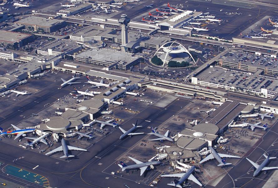 port lotniczy lotnisko Los Angeles
