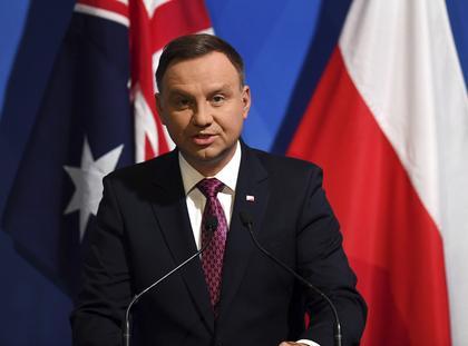 Polish President Andrzej Duda visits Australia