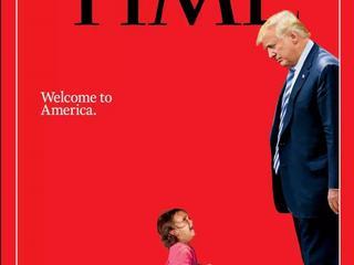 Donald Trump kontra dwuletnia migrantka. Okładka Time'a rozpaliła Amerykę