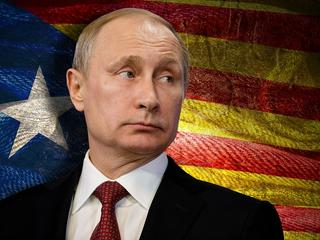 Putin walczy o niepodległość Katalonii