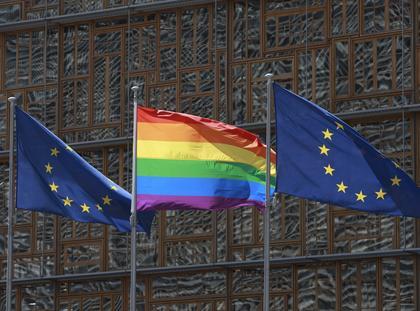 tęczowa flaga LGBT homoseksualizm