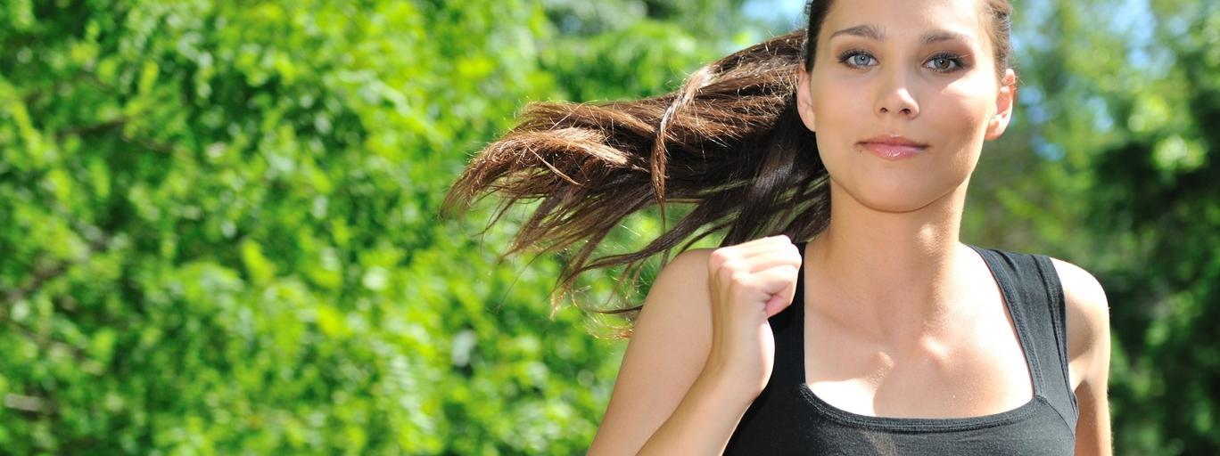 Kobieta zdrowie bieganie maraton
