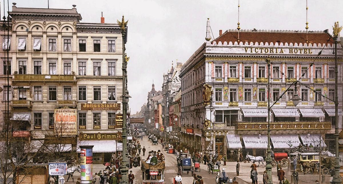 Berlin 1900 rok