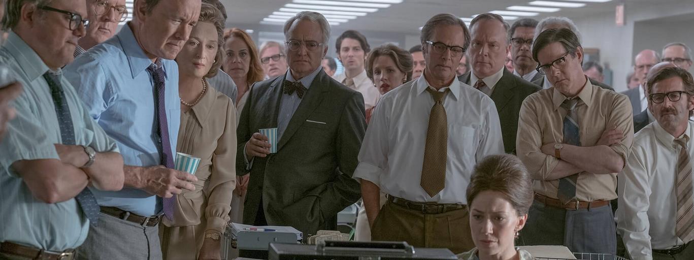 Czwarta władza, Meryl Streep, Tom Hanks