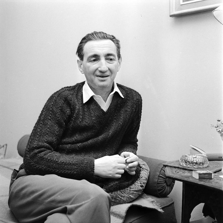 Marek Edelman. Fot. PAP/Witold Rozmysłowicz