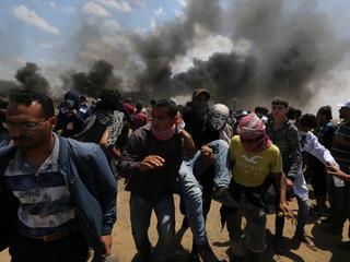 Ponad 3 tys. osób rannych, ponad 50 zabitych. Krwawe starcia w Strefie Gazy