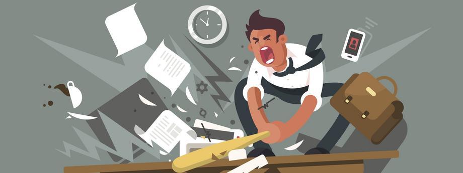 Praca biuro korporacja szef mobbing