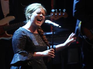 British singer Adele koncert