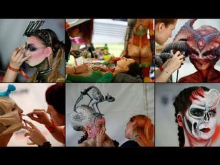 Obrazy na ciele malowane