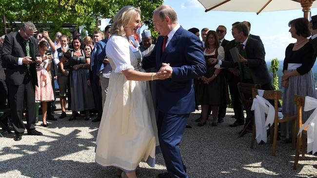 Karin Kneissl, Władimir Putin