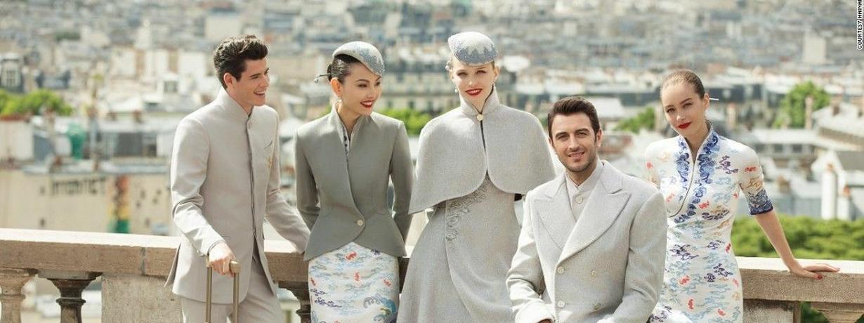 Podniebne pret a porter. Zobaczcie najciekawsze mundury stewardess z całego świata