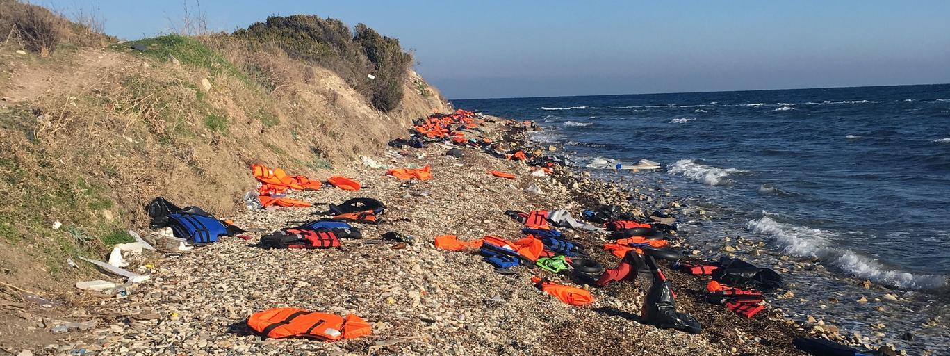 Annah Björk i Mattias Beijmo, uchodźcy, łódź 370