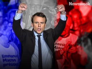 Macron. Mistrz teatralnych gestów