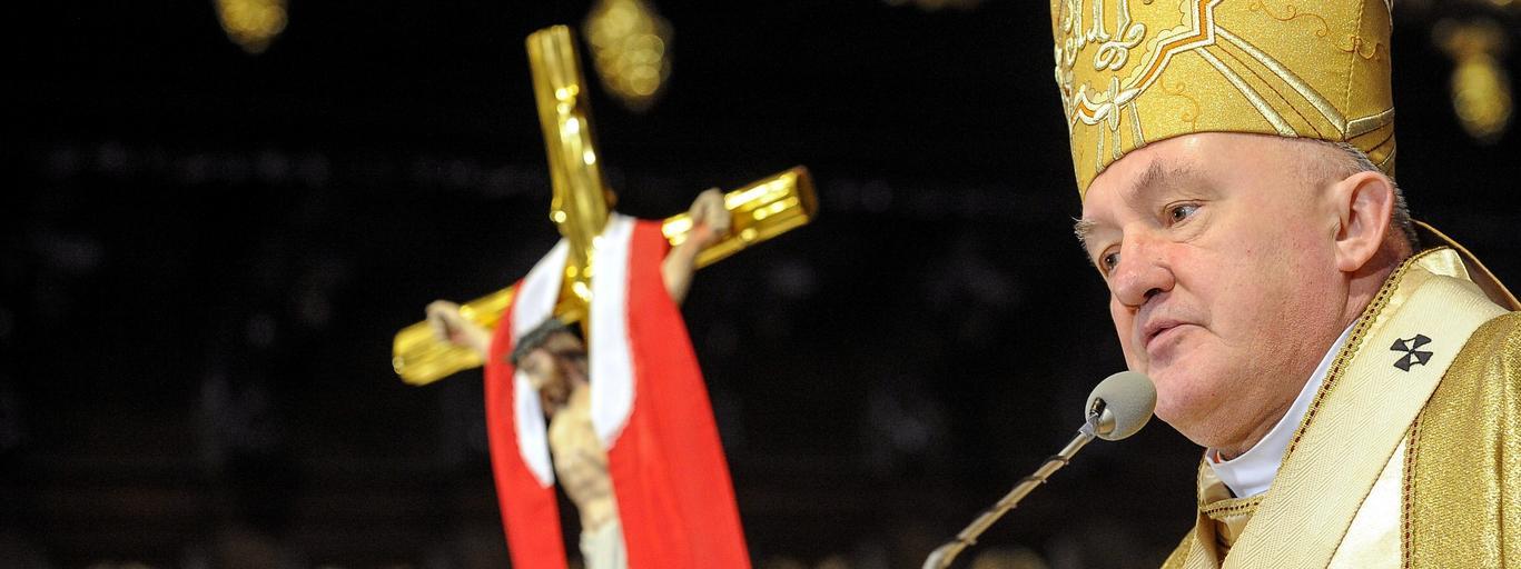 Kazimierz Nycz Kościół katolicki duchowni wiara religia