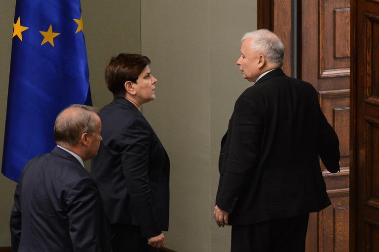 Beata Szydło, Jarosław Kaczyński
