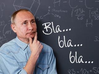 Putin idzie do szkoły. Grozi mu kompromitacja