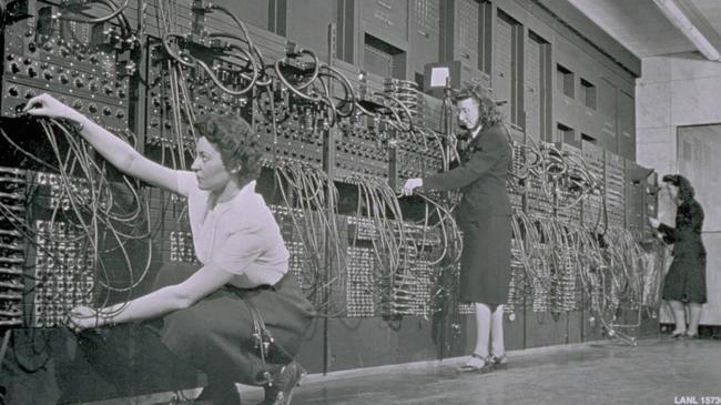 komputer, kobieta