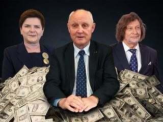PiS zamienia się w klub milionerów