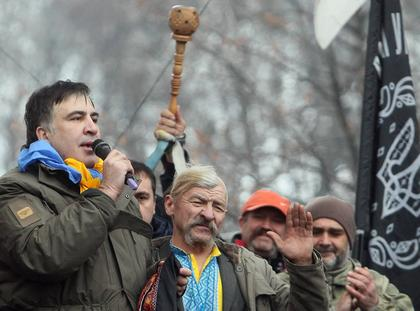 Former Odessa Region Governor Mikheil Saakashvili detained in Kiev, Ukraine