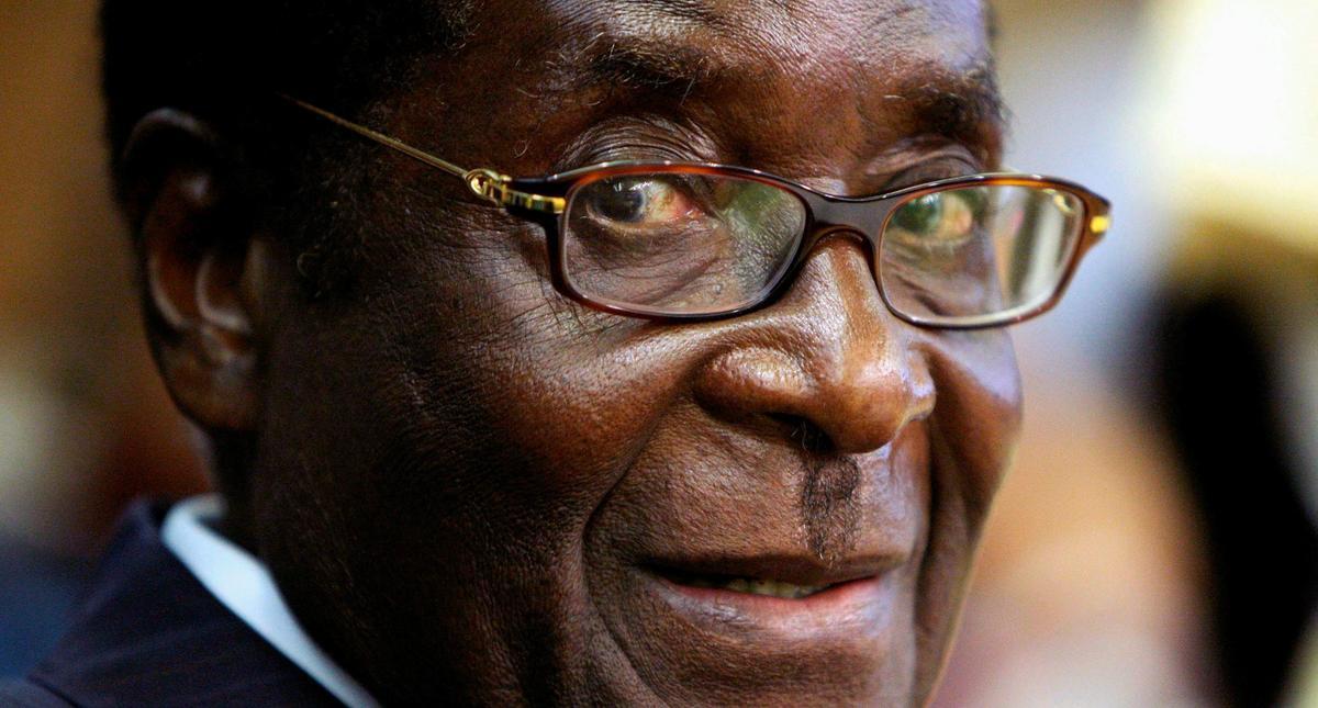 FILE PHOTO - File photo of Zimbabwe's President Robert Mugabe attending a U.N. crisis summit on risi