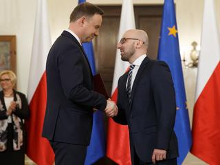 Andrzej Duda idzie na zwarcie z PiS? Dymisji Łapińskiego nie będzie