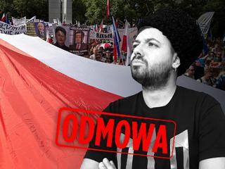 """""""Jestem Ukraińcem, dziennikarzem i protestuję przeciw PiS"""""""