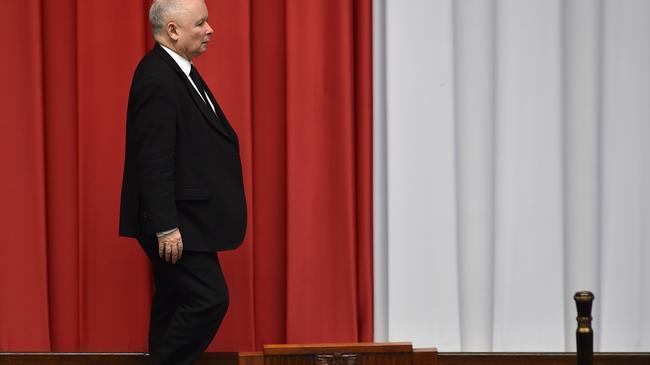 Sejm Posiedzenie Jarosław Kaczyński