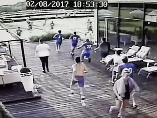 """""""Zaplanowana zasadzka"""". Pseudokibice zaatakowali piłkarzy z Izraela"""