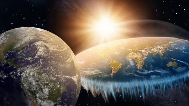 Wojna światów, płaskoziemcy i astronomia