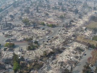 Kalifornia po pożarach. Apokaliptyczny krajobraz [WIDEO]