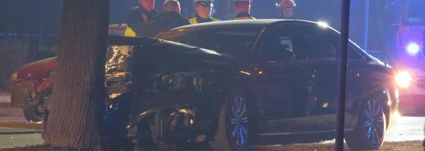 Wypadek samochodowy z udzia?em Premier Beaty Szydło w Oświęcimiu