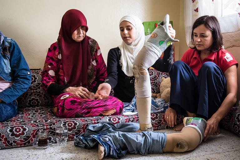 syria, protezy