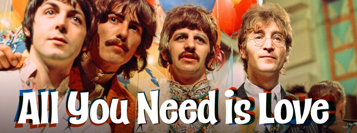 The Beatles muzyka rock 'n' roll All You Need Is Love