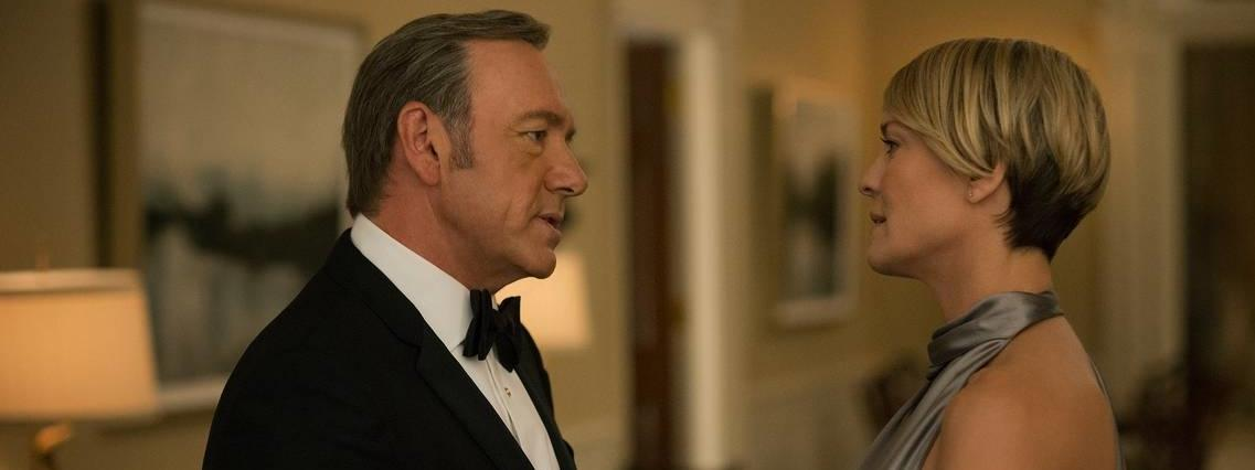 House of Cards Claire Underwood Frank Underwood seriale telewizja