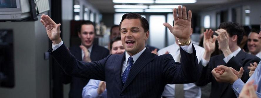 Leonardo DiCaprio Wilk z Wall Street