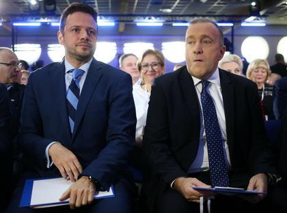 Platforma Obywatelska PO polityka Grzegorz Schetyna Rafał Trzaskowski