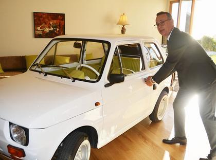 Tom Hanks mały fiat maluch Fiat 126p film kino