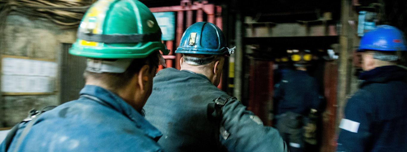 kopalnia górnicy ostatni dzień pracy w kopalni