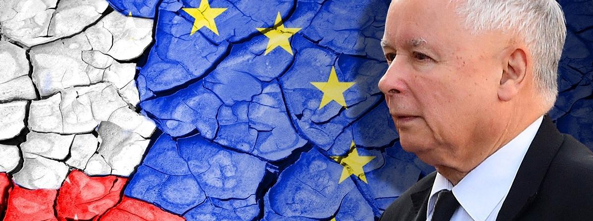 Jarosław Kaczyński, PiS, Polska, UE
